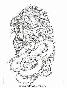Female quarter sleeve tattoo ideas 7 for Designing a sleeve tattoo template