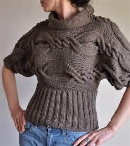 pullover designer knit cable sweater designer unique t sweater kimono