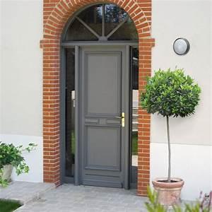 porte d39entree bois beauregard pasquet menuiseries With porte de garage et porte classique