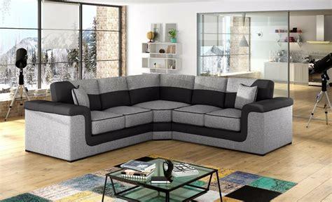 corner settee cheap sale new large symphony leather fabric corner sofa