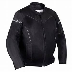 Blouson Moto Homme Textile : bering blouson moto cancun textile homme sport t noir gris king size btb640 ~ Melissatoandfro.com Idées de Décoration