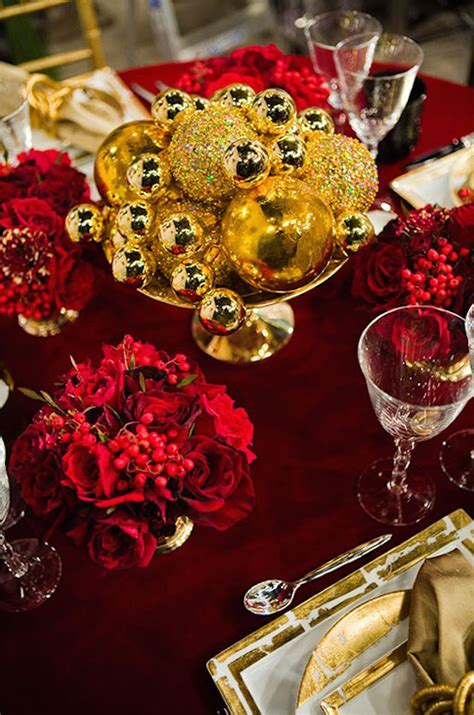 25 Red And Gold Christmas Decorations Ideas You Can't Miss
