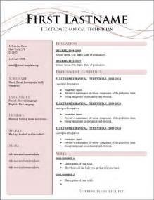 Resume Format For Free Resume Cv Cover Letter
