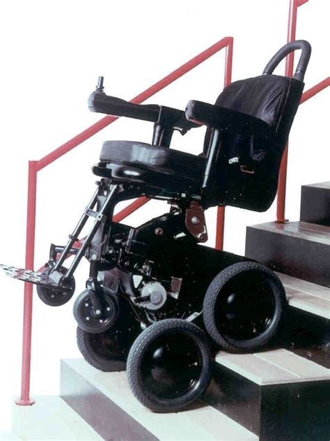 toyota joins dean kamen on wheelchair that climbs stairs