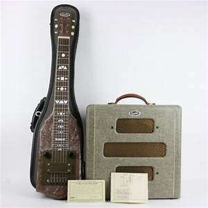 1948 Supro  Valco  Supreme Lap Steel And Amp Pearloid
