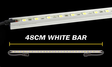 48cm white led light bar korr lighting australia