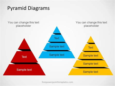 Free Pyramid Diagrams For Powerpoint With Multiple Levels