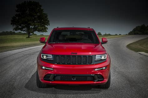 srt jeep red 2015 jeep grand cherokee srt red vapor now available to