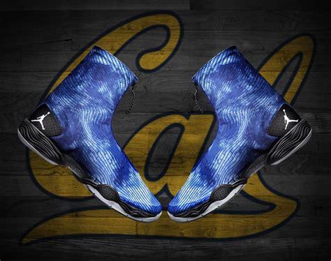 air jordan xx blue camo   worn  jordan brand ncaa