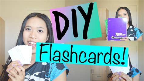 Diy Flashcards ♡  Lexyheartsbeauty Youtube
