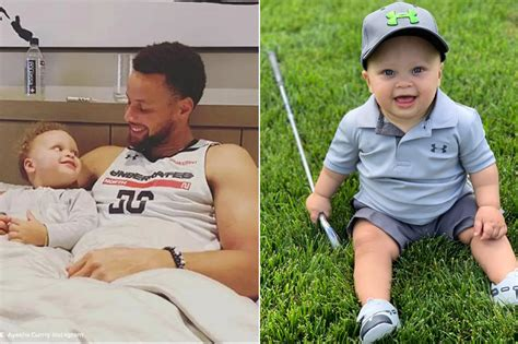 It seems the couple left the kids at home for this trip, as their daughters riley, 8, and ryan, 5, and son canon, 2, regularly make many cameos on their. Stephen Curry Looks Very Lovable As He Plays Golf With His 2-Year-Old Son Canon On The Beach ...