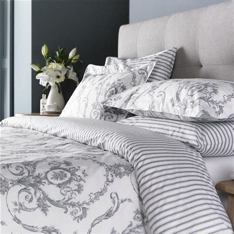 grey duvet cover elizabeth duvet cover silver grey
