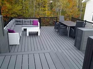 Terrasse En Composite : terrasse en composite ezdeck design patio en composite ~ Melissatoandfro.com Idées de Décoration