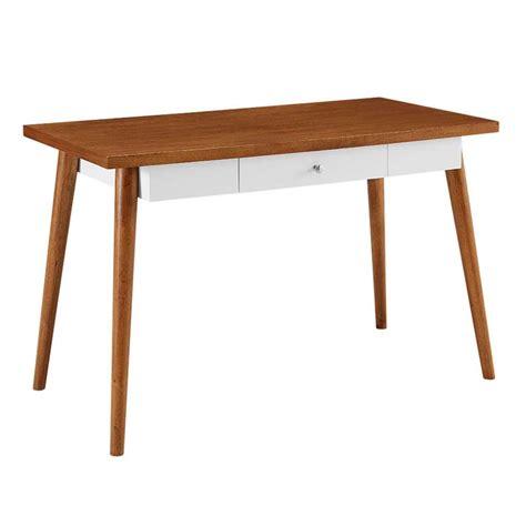 mid century computer desk walker edison mid century wood computer desk acorn brown