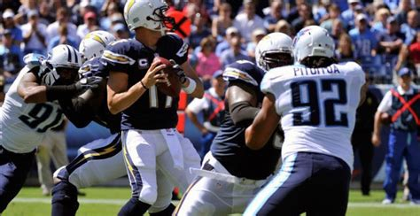 Titans At Chargers