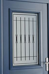 Grille Porte D Entrée : portes d 39 entr e aluminium ariane swao ~ Melissatoandfro.com Idées de Décoration