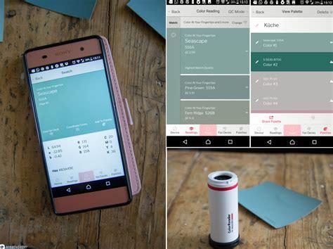 Farbton Bestimmen App by Mit Dem Colorreader Die Perfekte Wandfarbe Finden