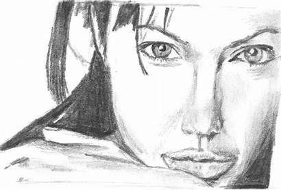 Drawings Pencil Celebrity Drawing Idea Milf Fang