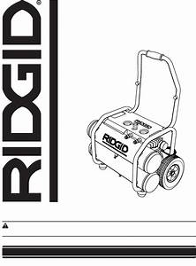 Ridgid Air Compressor Ol50135w User Guide