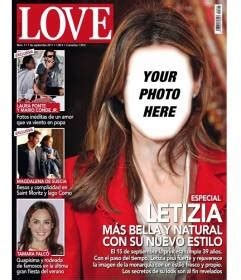 photomontage   magazine cover  put  face