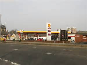 Shell Garage Road by Shell Garage Scotland Road Liverpool 169 Graham Robson Cc