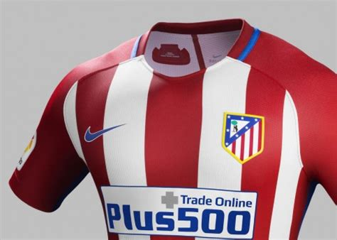 Atlético Madrid 16/17 Nike Home Kit | 16/17 Kits ...