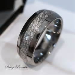 meteorite mens wedding ring best 25 wedding rings ideas on tungsten mens rings tungsten wedding bands and