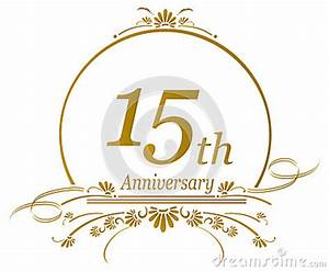 15th Anniversary Design, Vector Stock Vector - Image: 50289732