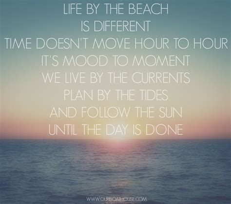 Cute Quotes About The Beach Quotesgram