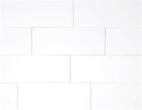 hammersmith subway tile white  gloss
