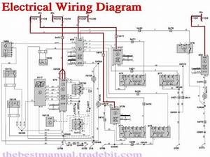 Volvo V70 Xc70 V70r Xc90 2004 Electrical Wiring Diagram Manual Inst