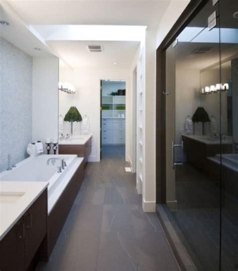 Decorating Ideas For Narrow Bathrooms by 25 Most Brilliant Narrow Bathroom Ideas That Ll Drop
