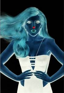 Look at the red dot for thirty seconds then look at a ...