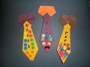 Activité Fete Des Peres : marque page cravate ~ Melissatoandfro.com Idées de Décoration