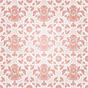 Seamless pink classic victorian wallpaper, 18774 ...