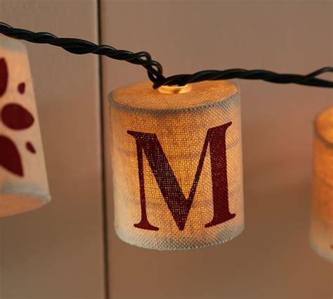 burlap lantern string lights burlap merry bright string lights pottery barn