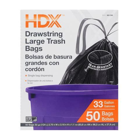 Home Depot Kitchen Garbage Bags by Upc 735692010708 Hdx Trash Bags 33 Gal Large Drawstring