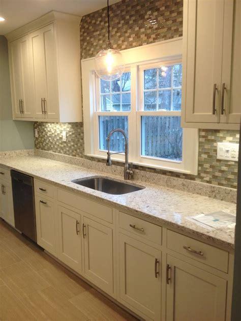 Siberian white quartz countertops by Just for Granite