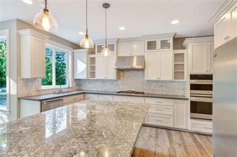 photos of kitchen backsplash this breathtaking kitchen features a 3x6 marble backsplash 4162