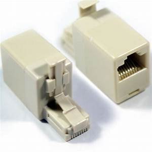 Rj45 Crossover Adapter - Male To Female