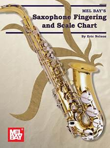 Beginner Alto Saxophone Finger Chart Saxophone And Scale Chart Sheet Music By Eric
