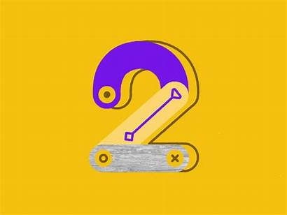 Number Days Project Dribbble Numbers Dair Icon