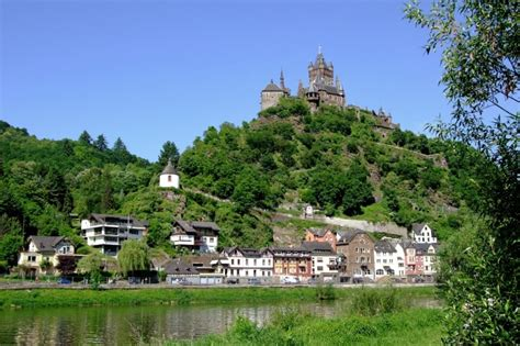 Mosel River Wine Region Sights Between Koblenz And Trier