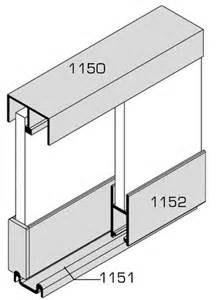 glissiere pour vitrine verre rail et accessoire vitrine coulissante ferrure de placard quincaillerie ameublement