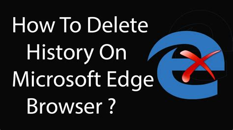 how to clear history korea facts how to delete history on microsoft edge browser completely