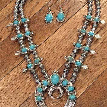 Shop Vintage Navajo Turquoise Jewelry Necklace on Wanelo