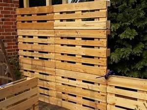 Sichtschutz Selber Bauen : paletten recycling sichtschutz bauanleitung zum selber bauen selber machen sichtschutz ~ Sanjose-hotels-ca.com Haus und Dekorationen