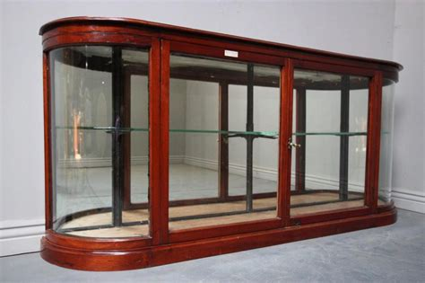 antique shop display cabinets for antique mahogany shop fitting display cabinet antiques atlas 9032