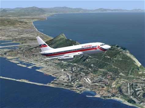 Gibraltar Scenery V2 For Fsx