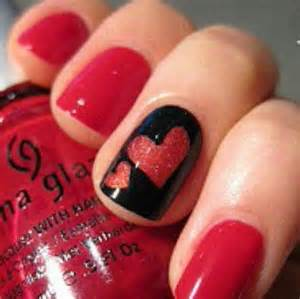 Easy cute valentine s day nail art designs ideas